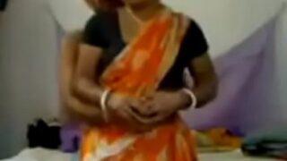 सारी मई भाभी की चुदाई की हिन्दी ब्लू फिल्म